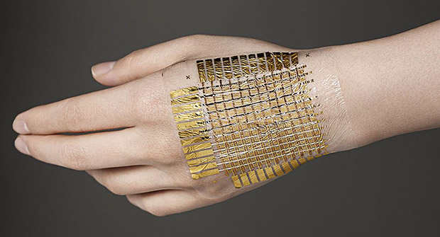 Skin attached patch of embedded -bio sensor